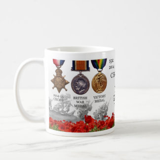 The Great War centenary Basic White Mug