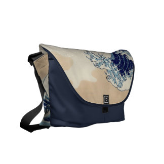 The great wave bag courier bags