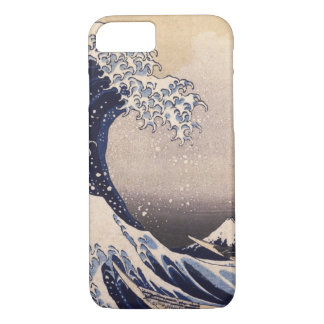 The Great Wave by Hokusai, Vintage Japanese Art iPhone 8/7 Case
