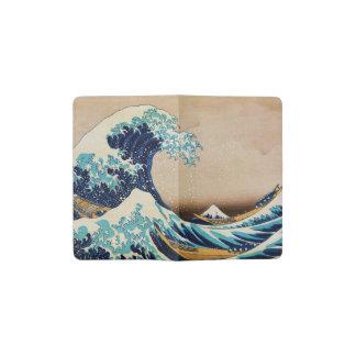 The Great Wave by Hokusai Vintage Japanese Pocket Moleskine Notebook
