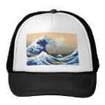 The Great Wave - Hokusai Cap