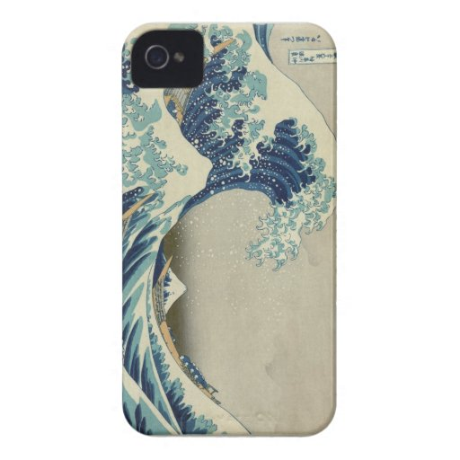 The Great Wave Iphone 4s Case Case-Mate iPhone 4 Case