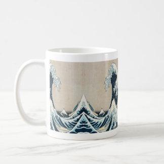 The Great Wave Mug Design by SHARLES