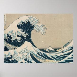 The Great Wave of Kanagawa Print