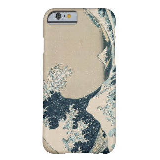 The Great Wave of Kanagawa, Views of Mt. Fuji Barely There iPhone 6 Case