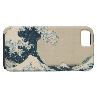 The Great Wave of Kanagawa, Views of Mt. Fuji iPhone 5 Cases