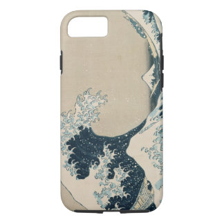 The Great Wave of Kanagawa, Views of Mt. Fuji iPhone 7 Case