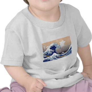 The Great Wave off Kanagawa - 神奈川沖浪裏 Shirts