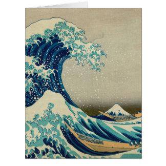 The Great Wave off Kanagawa Big Greeting Card