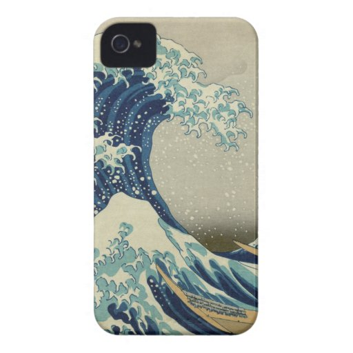 The Great Wave off Kanagawa iPhone 4 Case