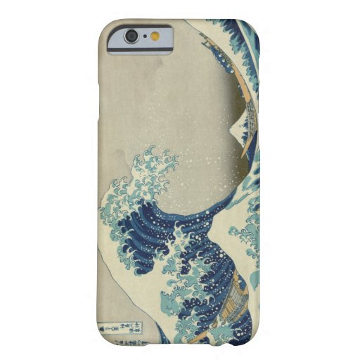 The Great Wave off Kanagawa iPhone 6 Case
