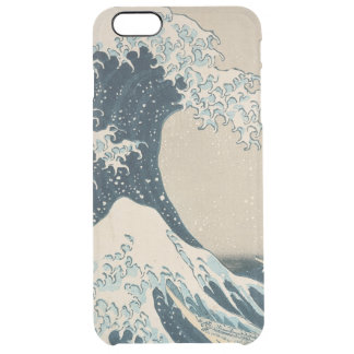 The Great Wave off Kanagawa Clear iPhone 6 Plus Case