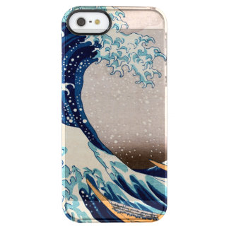 The Great Wave off Kanagawa Clear iPhone SE/5/5s Case