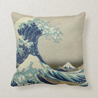 The Great Wave off Kanagawa Cushion