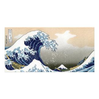The Great Wave Off Kanagawa Customized Photo Card