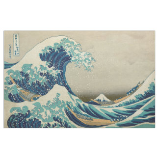 The Great Wave off Kanagawa Fabric