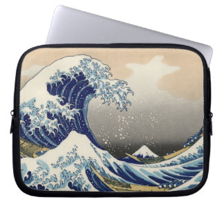 The Great Wave off Kanagawa, Hokusai Laptop Sleeve