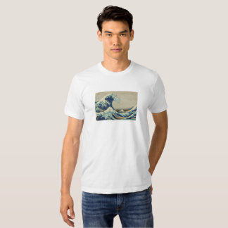 The Great Wave Off Kanagawa - Hokusai Shirts