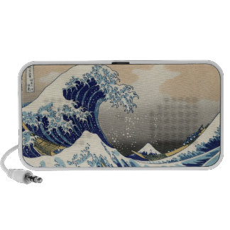 The Great Wave off Kanagawa, Katsushika Hokusai iPod Speakers