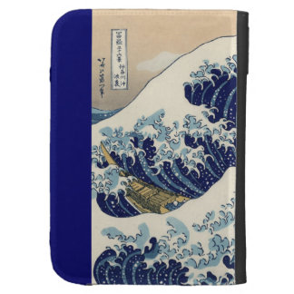 The Great Wave Off Kanagawa Kindle Cover
