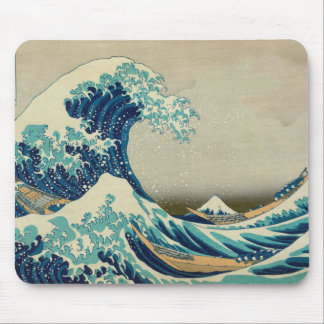 The Great Wave off Kanagawa Mouse Mat