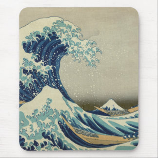 The Great Wave off Kanagawa Mouse Pad