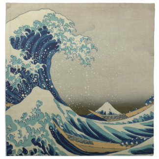 The Great Wave off Kanagawa Napkin