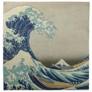 The Great Wave off Kanagawa Napkin