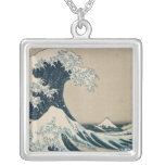 The Great Wave off Kanagawa Personalized Necklace