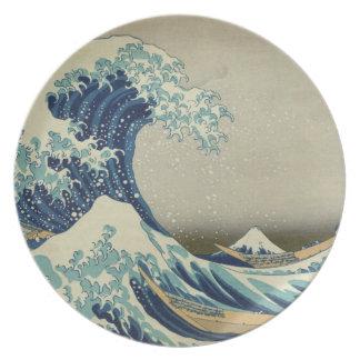 The Great Wave off Kanagawa Plate