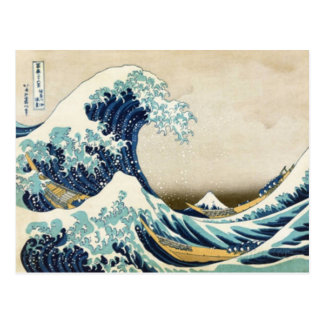 The Great Wave off Kanagawa Postcard