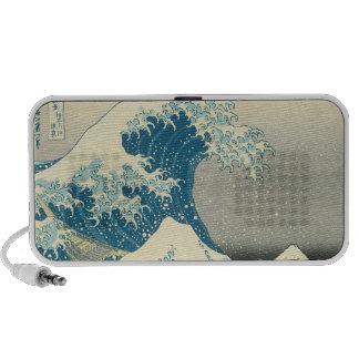The Great Wave off Kanagawa iPod Speaker