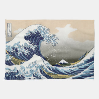 The Great Wave Off Kanagawa Tea Towel