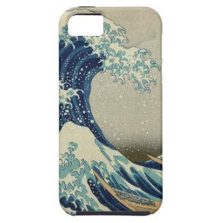 The Great Wave off Kanagawa Tough iPhone 5 Case
