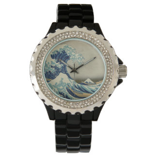 The Great Wave off Kanagawa Wristwatch