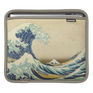 The Great Wave Off Shore of Kanagawa iPad Sleeve