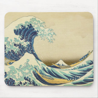 The Great Wave Off Shore of Kanagawa Mouse Pad