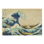 The Great Wave Off Shore of Kanagawa Poster