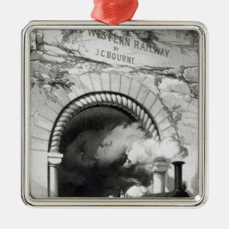 The Great Western Railway, 1846 Christmas Ornament