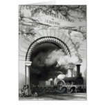 The Great Western Railway, 1846 Greeting Card