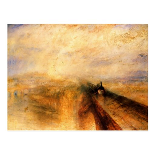 The Great Western Railway by William Turner Postcard
