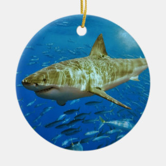 The Great White Shark Carcharodon Carcharias Christmas Ornament