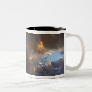 The greater the difficulty the more glor... Two-Tone mug
