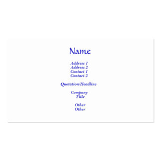 The Greatest Commandment Pack Of Standard Business Cards