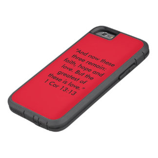 """""""The Greatest is Love"""" Iphone 6/6S Cell Phone Case"""