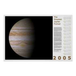 The Greatest Jupiter Portrait: 2005 Poster