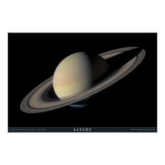 The Greatest Saturn Portrait Poster