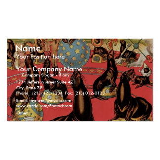The Greatest Show On Earth Retro Theater Pack Of Standard Business Cards