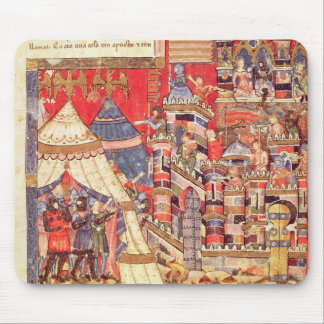 The Greek Camp and the City of Troy Mouse Mat