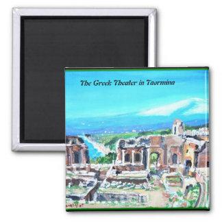 The Greek Theater in Taormina -  Magnet